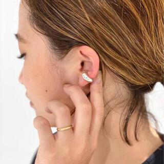 ドゥーズィエムクラス(DEUXIEME CLASSE)のDeuxieme Classe LAVER EAR CUFF シルバー(イヤーカフ)