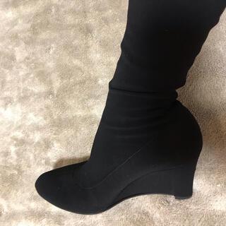 フェラガモ(Ferragamo)のフェラガモ 膝下ブーツ 23から23.5cm(ブーツ)