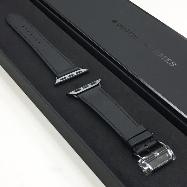 Hermes(エルメス)の人気色 アップルウォッチ エルメス レザーストラップ Apple Watch メンズの時計(レザーベルト)の商品写真