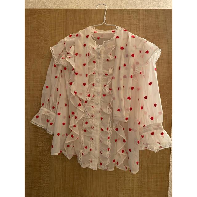 Angelic Pretty(アンジェリックプリティー)のプリティ ブラウス レディースのトップス(シャツ/ブラウス(半袖/袖なし))の商品写真