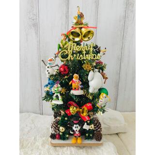 ディズニー(Disney)の専用 クリスマスツリー ディズニー フェイクグリーン ミニツリー ハンドメイド(その他)