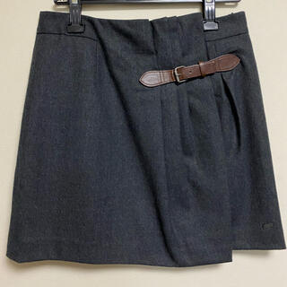 TOMMY HILFIGER - TOMMY HILFIGER 秋冬物膝上巻きスカート