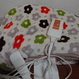 ヤマゼン(山善)の電気ひざ掛け毛布(電気毛布)