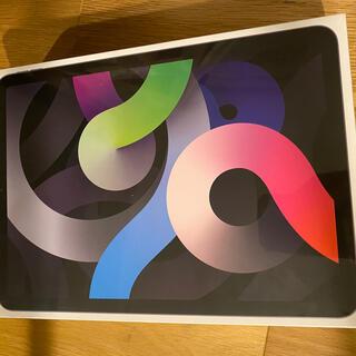 アップル(Apple)のiPad Air 4th 最新版 Wi-Fiモデル スペースグレー(タブレット)