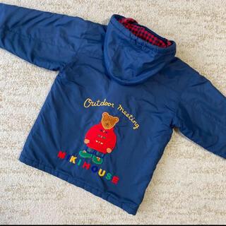 ミキハウス(mikihouse)の綺麗 オールドミキハウス ミキハウス ジャンパー 110 くまさん刺繍(ジャケット/上着)