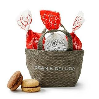 ディーンアンドデルーカ(DEAN & DELUCA)のDEAN&DELUCA ホリデーミニトート(オリーブ)【クッキー】(菓子/デザート)