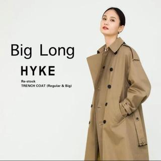 HYKE - 期間限定値下げ HYKE ビッグトレンチコート サイズ3
