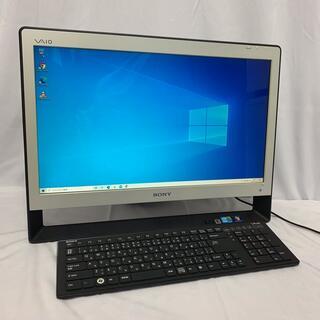 ソニー(SONY)のSONY VAIO 一体型液晶パソコン win10/HDD1TB/Corei5(デスクトップ型PC)