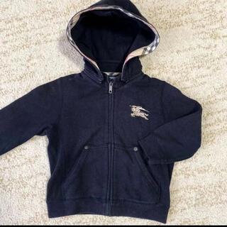 バーバリー(BURBERRY)のバーバリー パーカー デカロゴ刺繍 100 秋冬もの(ジャケット/上着)