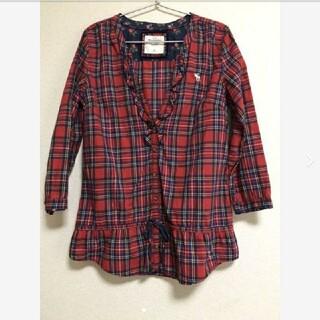アバクロンビーアンドフィッチ(Abercrombie&Fitch)のAbercrombie&Fitch チェックシャツ(シャツ/ブラウス(長袖/七分))