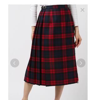 オニール(O'NEILL)の【新品】O'NEIL of DUBLIN 100%ウールキルトスカート 8(ロングスカート)