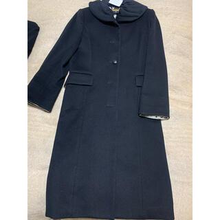 レオナール(LEONARD)の美品♡レオナール ロングコート ブラック 11AR(ロングコート)