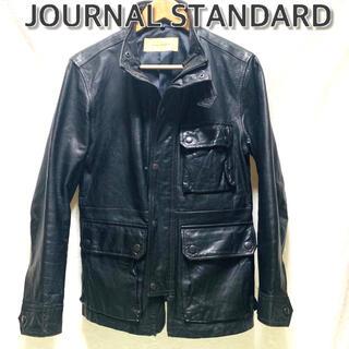 ジャーナルスタンダード(JOURNAL STANDARD)の美品 JOURNAL STANDARD 羊革ジャケット(レザージャケット)