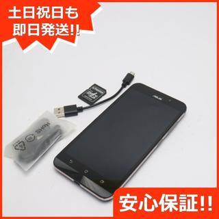 エイスース(ASUS)の良品中古 SIMフリー zenfone Max ZC550KL ブラック (スマートフォン本体)