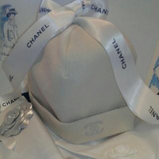 シャネル(CHANEL)の     💘CHANELニット帽子💘(ニット帽/ビーニー)