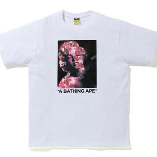 アベイシングエイプ(A BATHING APE)のA BATHING APE  マリリンモンロー Tシャツ  Lサイズ(Tシャツ/カットソー(半袖/袖なし))