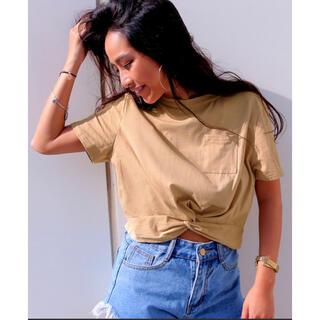 アナップ(ANAP)のショート丈TOPS(Tシャツ(半袖/袖なし))