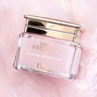 クリスチャンディオール(Christian Dior)の美品💕ディオール プレステージ ル バーム デマキヤント  高保湿 薔薇(クレンジング/メイク落とし)