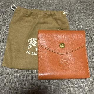 イルビゾンテ(IL BISONTE)のIL BISONTE二つ折り財布 美品(折り財布)