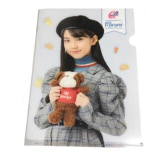 クリアファイル Girls2 × Wendy's ( First Kitchen(クリアファイル)