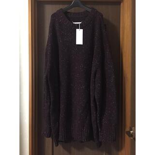 マルタンマルジェラ(Maison Martin Margiela)のXL新品 メゾン マルジェラ オーバーサイズ ロング ニット セーター メンズ(ニット/セーター)