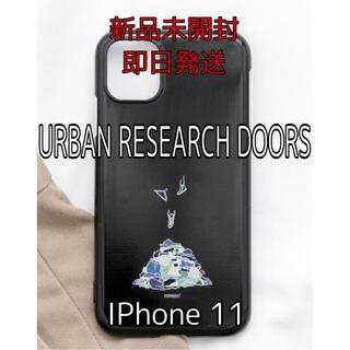 アーバンリサーチ(URBAN RESEARCH)のアーバンリサーチ IPhone11 アイフォン11 スマホケース 携帯カバー 黒(iPhoneケース)