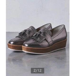 ユナイテッドアローズ(UNITED ARROWS)の【未使用】UNITED ARROWS スタッズ ローファー(ローファー/革靴)