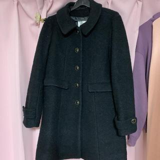ヴィス(ViS)のVis ウールコート 襟つき(ピーコート)