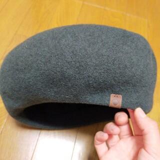 オーバーライド(override)のoverride ウールベレー帽(ハンチング/ベレー帽)