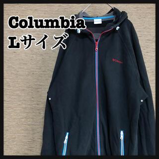 コロンビア(Columbia)の【コロンビア】パーカー 刺繍ロゴ ワンポイントロゴ ブラック L 3(パーカー)