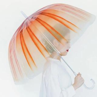 フェリシモ(FELISSIMO)のフェリシモコラボ 加茂水族館 アカクラゲ傘 水族館限定(傘)