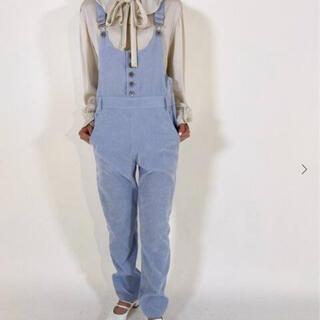エディットフォールル(EDIT.FOR LULU)のcorduroy overalls(サロペット/オーバーオール)