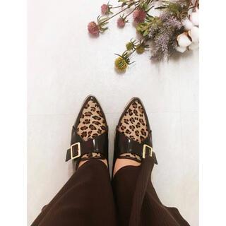 エスペランサ(ESPERANZA)のESPERANZA アニマルパターン バックルローファー(ローファー/革靴)