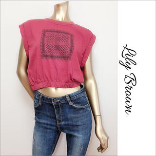 Lily Brown - Lily Brown フレンチ スリーブ トップス カットソー♡Ungrid