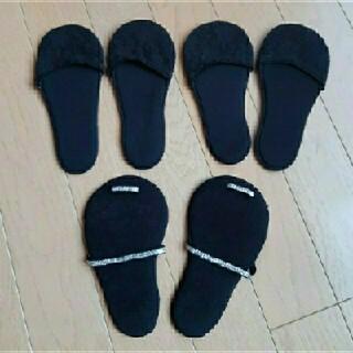 スリーコインズ(3COINS)の靴下 パンブス クッション ソックス パッド(ソックス)