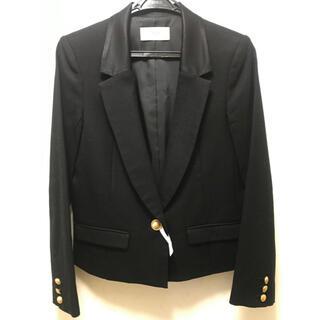 フレイアイディー(FRAY I.D)のフレイアイディー テーラードジャケット 黒(テーラードジャケット)