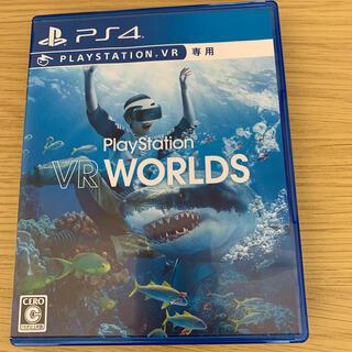 プレイステーションヴィーアール(PlayStation VR)のPS4「VR WORLD(VRワールド)」中古(家庭用ゲームソフト)