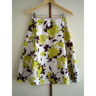 ラトータリテ(La TOTALITE)のLa TOTALITE ラトータリテ 花柄スカート 36サイズ ベイクルーズ(ひざ丈スカート)