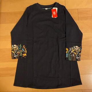 グラニフ(Design Tshirts Store graniph)のスエット ワンピース 130センチ(ワンピース)