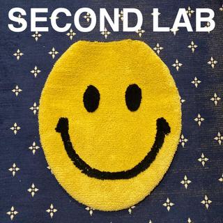 ジャーナルスタンダード(JOURNAL STANDARD)のSECOND LAB SMILEトイレ 便座カバー yellow beams(トイレマット)