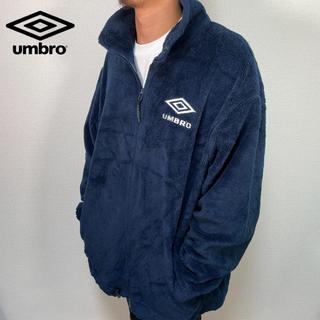 アンブロ(UMBRO)の【古着】90s UMBRO アンブロ オーバーサイズ ボアジャケット XXL(ブルゾン)