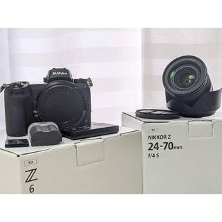 ニコン(Nikon)のニコン Nikon Z6 24-70mm F4 レンズキット豪華おまけ付き(ミラーレス一眼)