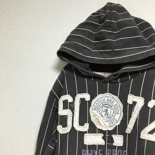 スコッチアンドソーダ(SCOTCH & SODA)の【古着】スコッチ&ソーダ ヴィンテージ ストライプパーカー(パーカー)