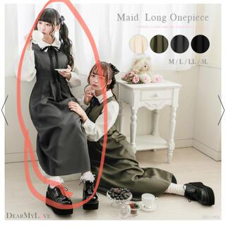 ユメテンボウ(夢展望)のシャツレイヤードメイドロングワンピース(ロングワンピース/マキシワンピース)