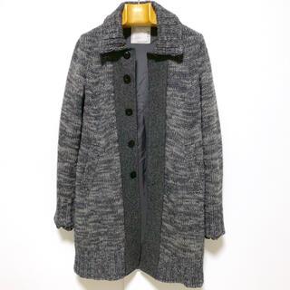 サカイ(sacai)の【美品】sacai 703 ウールニットコート/メンズS(ニット/セーター)