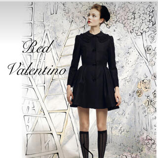 レッドヴァレンティノ(RED VALENTINO)のm様ご専用 RED VALENTINO♡ お襟デザインコート(ロングコート)