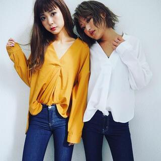 ジェイダ(GYDA)のGYDA♡スキッパーシャツ(シャツ/ブラウス(長袖/七分))