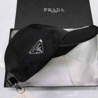 PRADA - PRADA プラダ ナイロン ベースボールキャップ ブラック