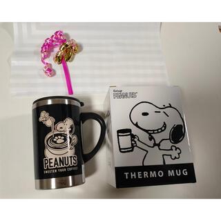 サーモマグ(thermo mug)の新品 スヌーピー   サーモ マグ  PLAZA  MINiPLA限定デザイン(タンブラー)
