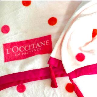 ロクシタン(L'OCCITANE)のL'OCCITANE☆ノベルティ ブランケット(おくるみ/ブランケット)